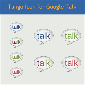 Tango Icon for Google Talk by DarKobra