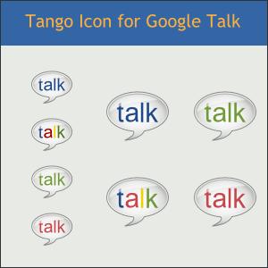 Tango Icon for Google Talk by DarKobra