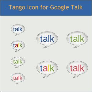 Tango Icon for Google Talk