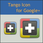 Tango Google+ Icon by DarKobra