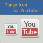 Tango YouTube Icon by DarKobra