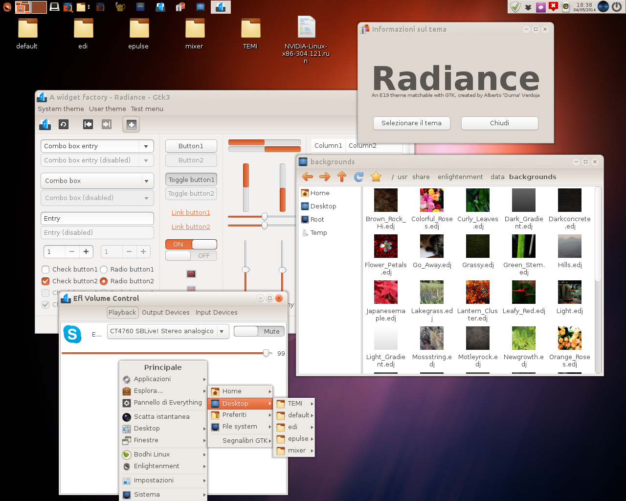 E19 Radiance Theme... with a Lot of Colors!! by AVDuma
