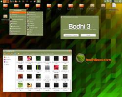 Bodhi Linux Theme 3.0.0 RC1 by AVDuma