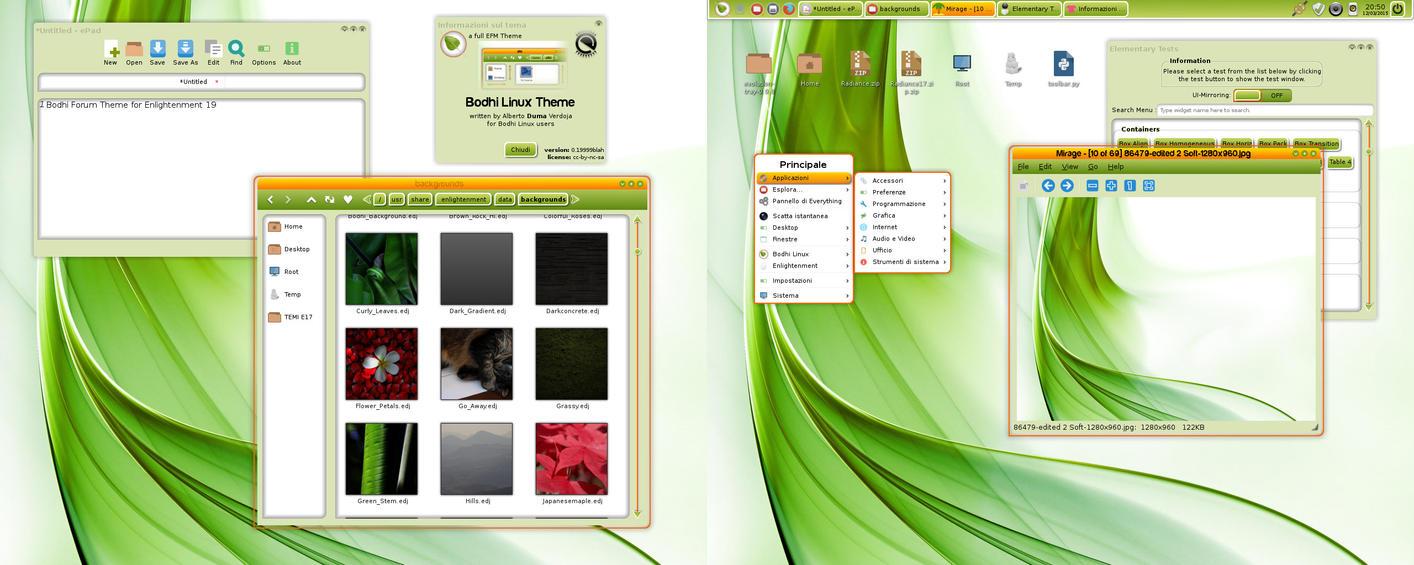 Bodhi Linux E19 Theme by AVDuma