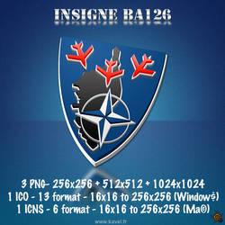 Insigne BA126 Solenzara