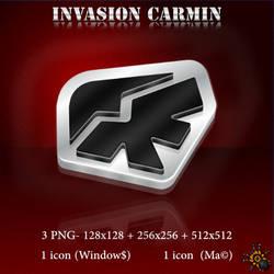 INVASION CARMIN - CRIMSON INVASION logo