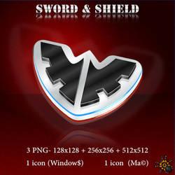 SWORD and SHIELD LOGO
