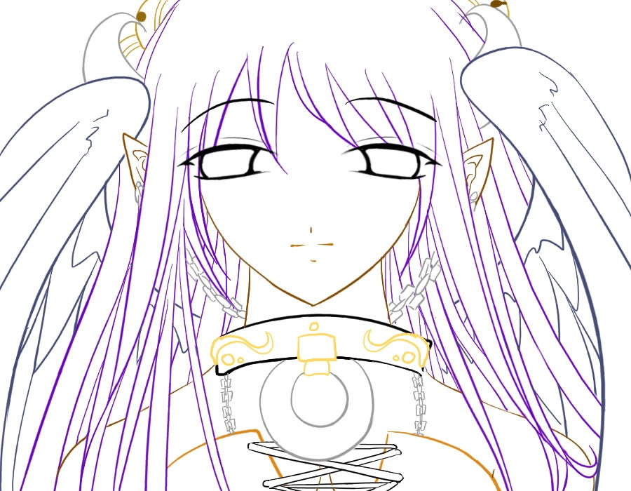 dark angel coloring pages - dark angel lineart by kathy100 on deviantart