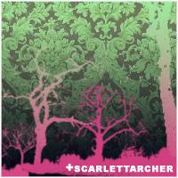 Askew Trees Brush set by ScarlettArcher