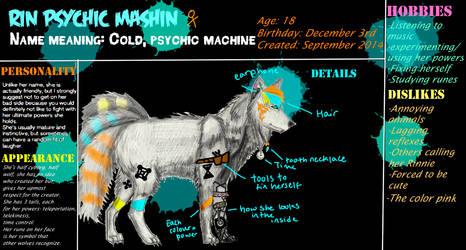Rin Psychic Mashin by RinWritingWolf