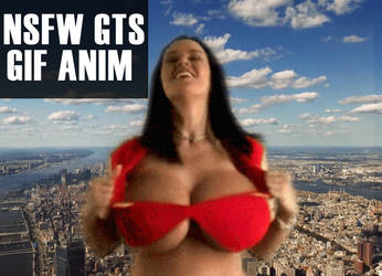 (NSFW GIF) GTS Streaking Through NYC by CaptainRandGTS
