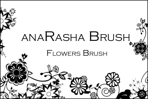 Flower Brush II by anaRasha-stock