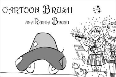 cartoon brush