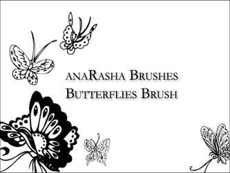 butterflies brush