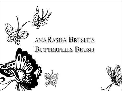 butterflies brush
