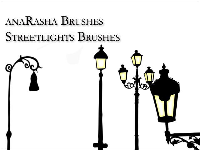 Streetlights   Brushes by anaRasha-stock