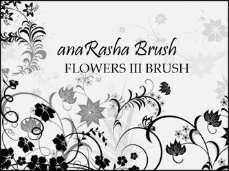 Flowers 3 brush