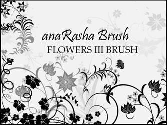 Flowers 3 brush by anaRasha-stock