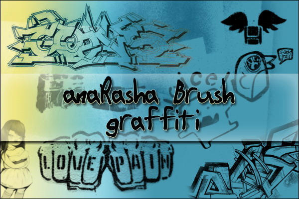 graffiti Brush by anaRasha-stock