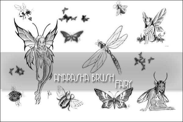 Fairy  Brush by anaRasha-stock
