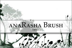 Tree brush 2 by anaRasha-stock