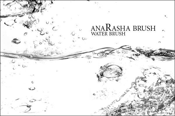 water_brush by anaRasha-stock