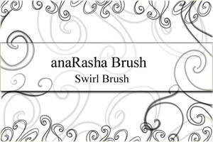 swirl Brush by anaRasha-stock