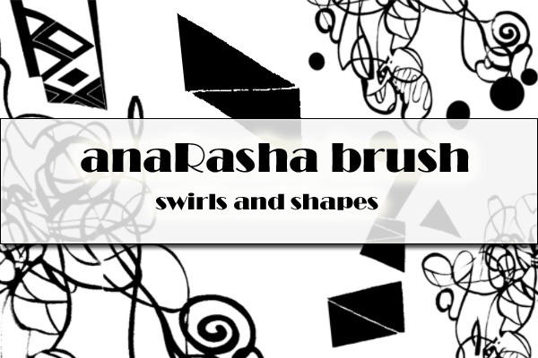 swirls and shapes by anaRasha-stock