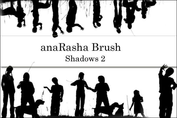 shadows Brush 2 by anaRasha-stock
