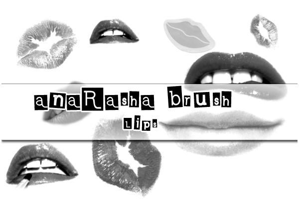 Lips Brush by anaRasha-stock