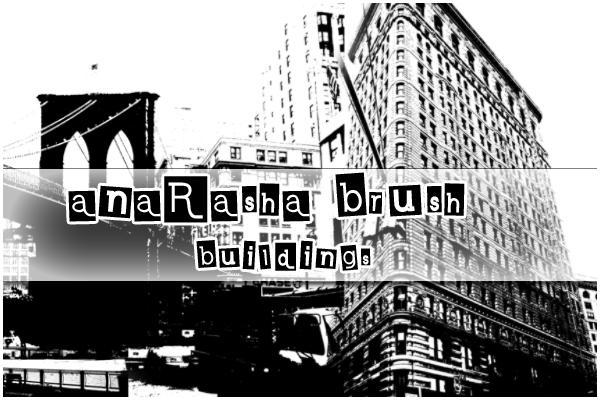 buildings brush by anaRasha-stock