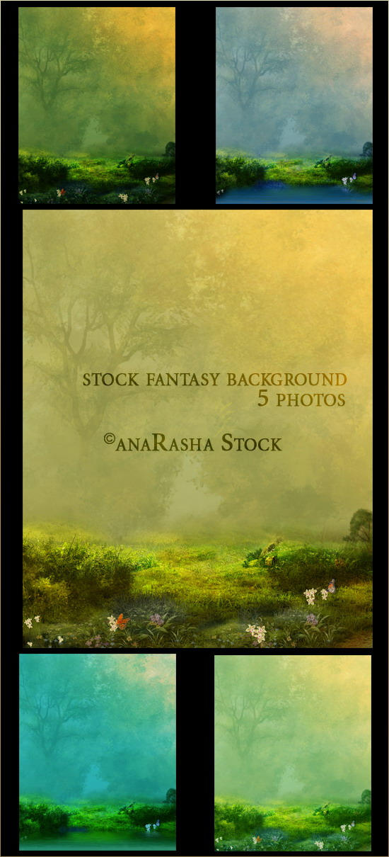 stock fantasy backgrounds by anaRasha-stock