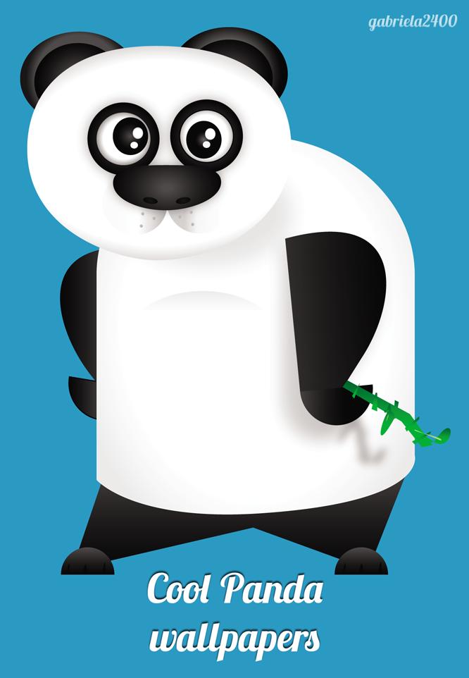 Cool Panda Wallpaper By Gabriela2400