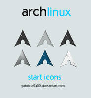 Arch Linux Start Icons