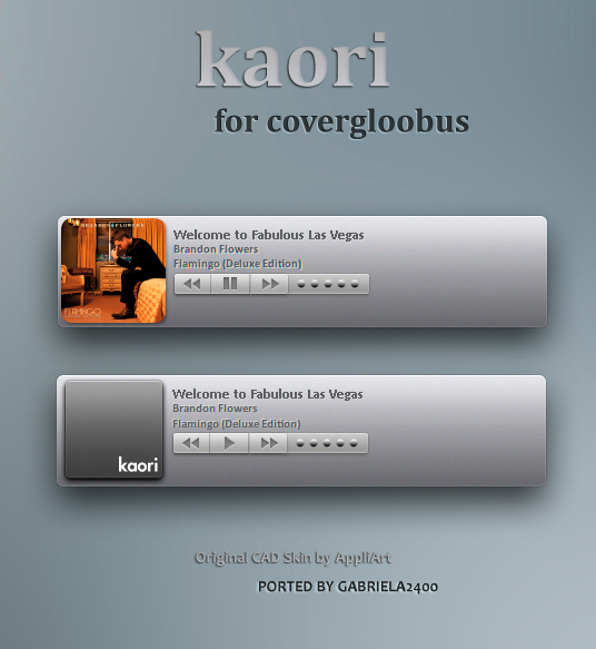 Kaori for covergloobus by gabriela2400