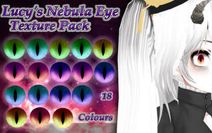 {Free Download} Lucy's Nebula Eye Texture Pack by LibertineMMD