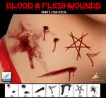 Blood and Fleshwounds Brushes