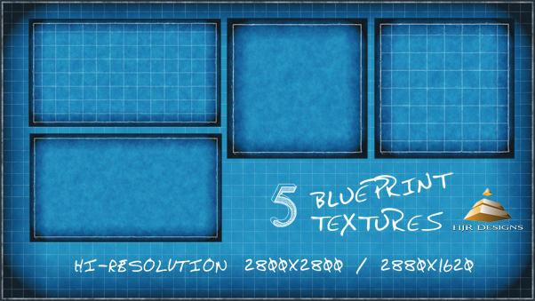 5 blueprint textures by hjr designs on deviantart 5 blueprint textures by hjr designs malvernweather Gallery
