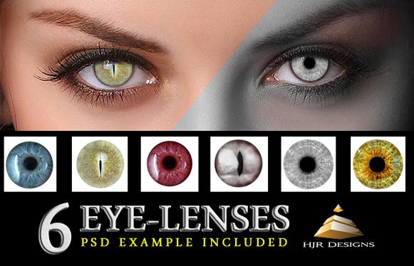 6 Eye Lenses
