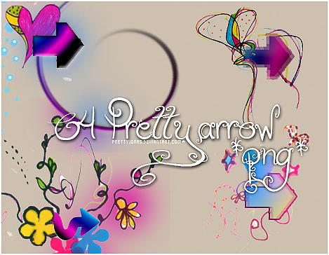 .O4 Pretty arrow PNG. by PrettyJonas