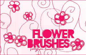 .FlowerBrushes. by PrettyJonas
