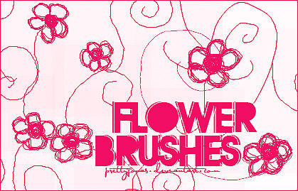 .FlowerBrushes. by PrettyJonas