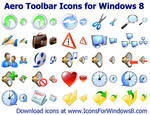 Windows 8 Toolbar Icons