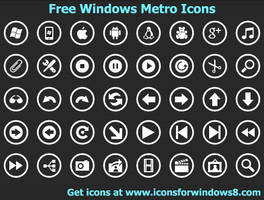 Windows Metro Icons by Ikont