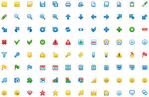 12x12 Free Toolbar Icons by Ikont