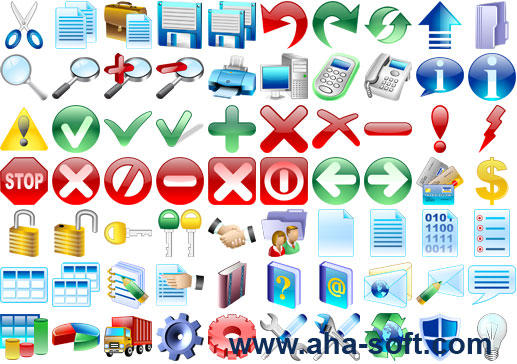 Basic Icons for Windows by Ikont