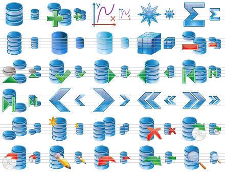 Datenbank Icon Sammlung by Ikont