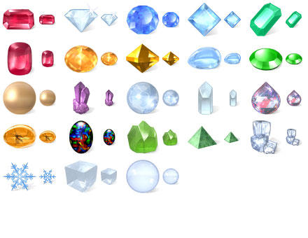 Desktop Crystal Icons