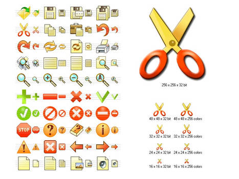 Fire Toolbar Icons
