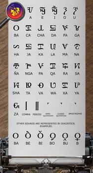 Visayas Script Roman Style